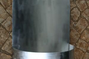 aus Edelstahl geschweißt Breite ca 40 cm