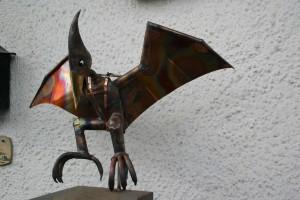 aus Kupferblech gefertigt, Höhe ca 60 cm